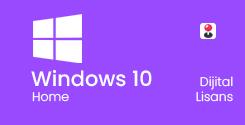 Windows 10 Home Bireysel Dijital Lisans Key